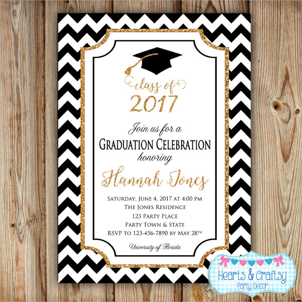 diy graduation party invitation