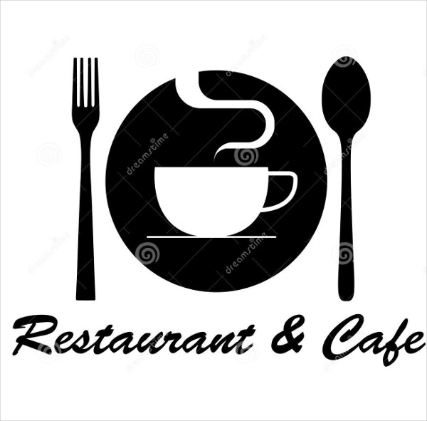 editable cafe restaurant logo