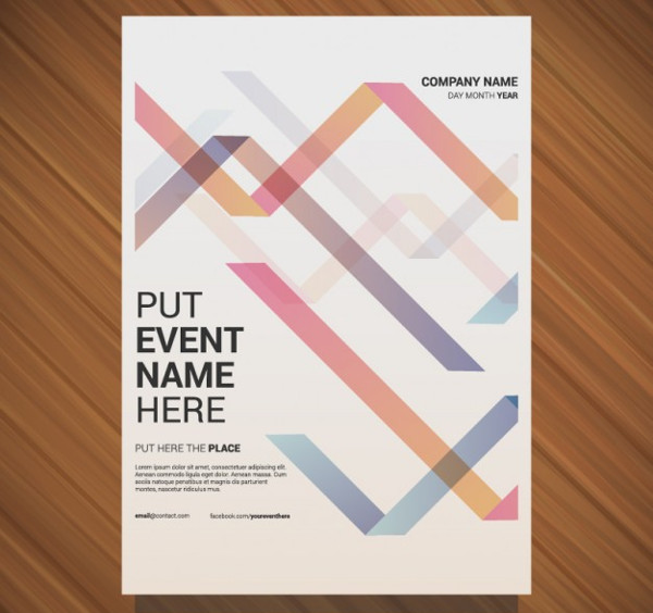 -Editable Vector Event Poster