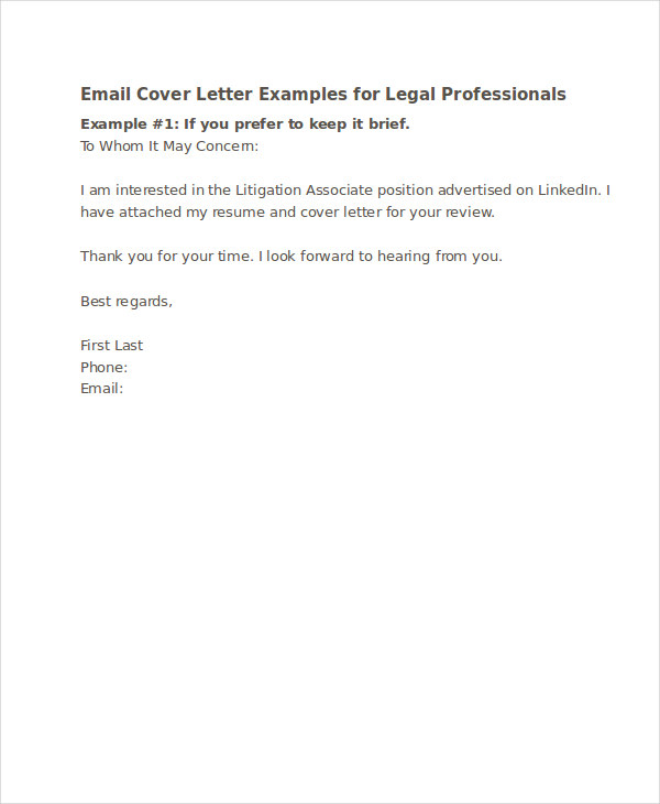 how to write a formal cover letters