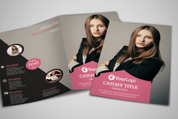 fashion bi fold brochure