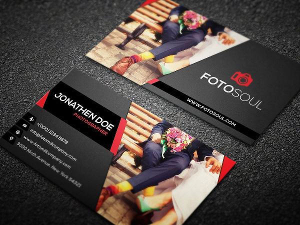 -Fashion Photography Business Card
