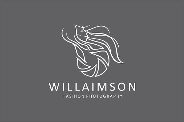 Fashion Photography Outline Logo