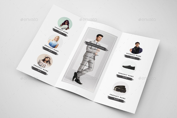 fashion sale brochure