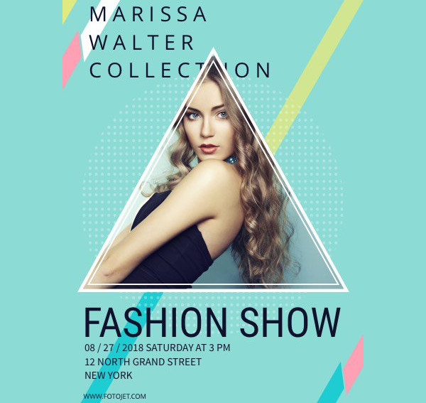 fashion show event poster