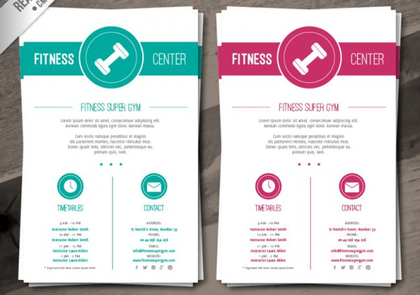 -Fitness Training Brochure
