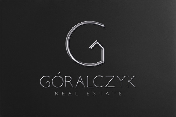 flat real estate company logo
