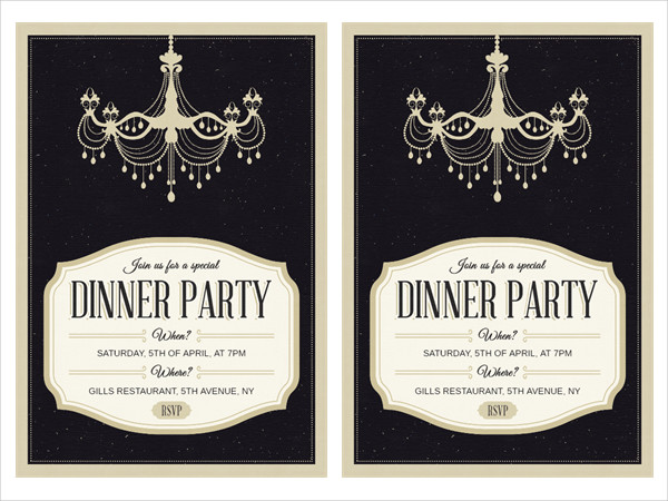 23business invitation designs examples psd ai vector eps formal business dinner invitation stopboris Choice Image