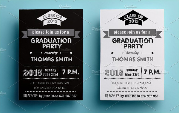 formal college graduation invitation1