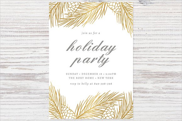 52 party invitation designs examples psd ai eps vector formal holiday party invitation stopboris Gallery