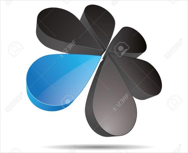 free 3d corporate logo