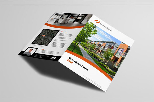 free a4 real estate brochure