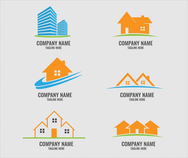 free building company logo
