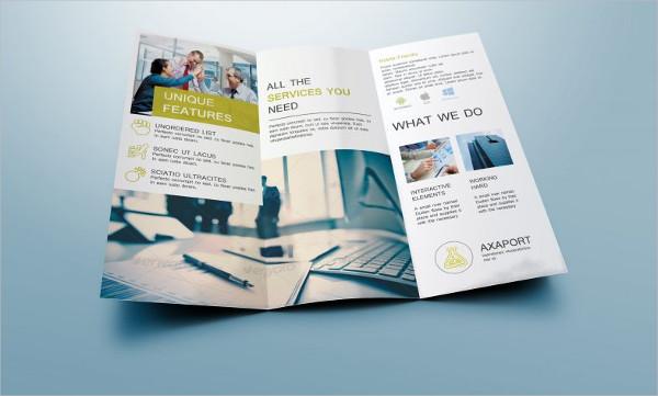34 tri fold brochure designs examples psd ai vector eps