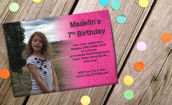 free childrens birthday card