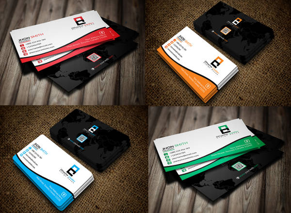 -Free Editable Business Card