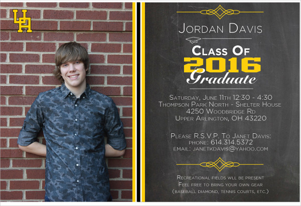 28 Examples of Graduation Invitation Design PSD AI Vector EPS