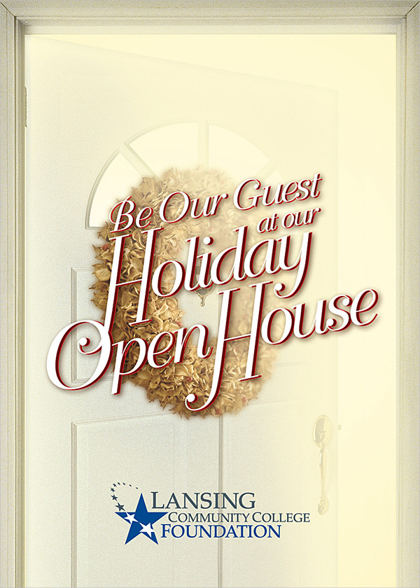 free holiday open house invitation