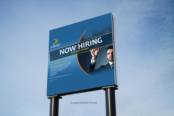 free job advertisement poster