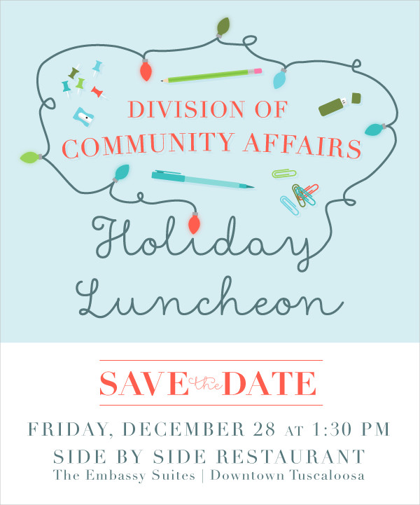 free office holiday invitation