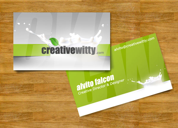 free personalized business card