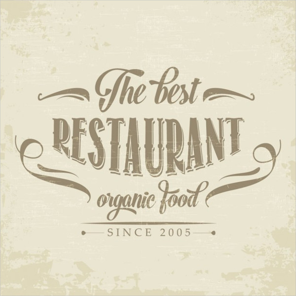 free restaurant logo