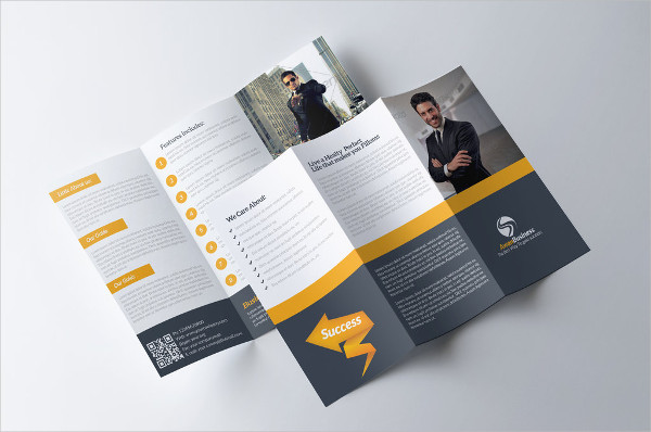 tri fold brochure design ideas - 30 business brochure designs examples psd ai