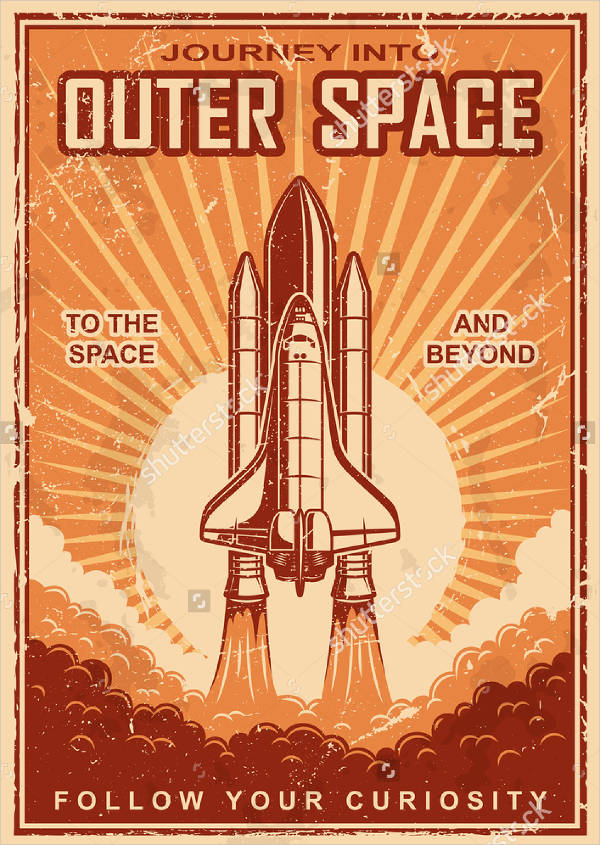 Free Vector Vintage Poster