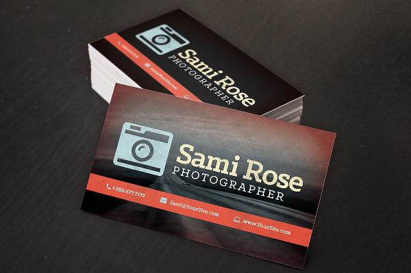 -Free Vintage Business Card