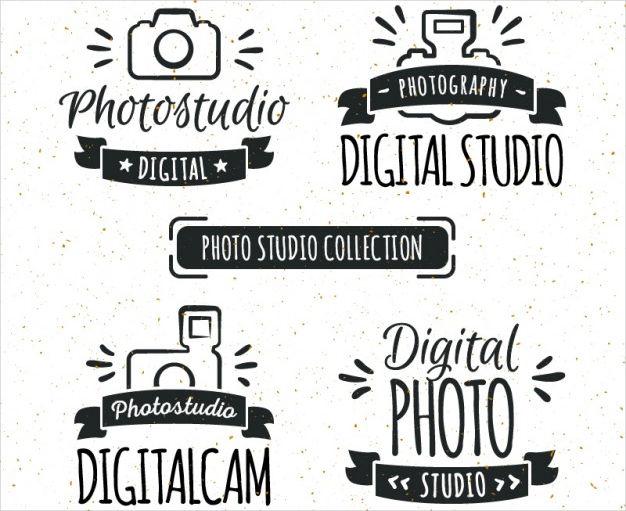 free vintage photography logo4