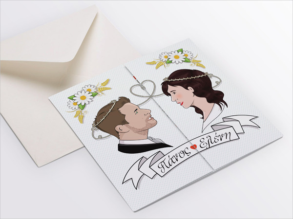 free wedding invitation envelope