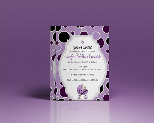 free personalized baby shower invitation