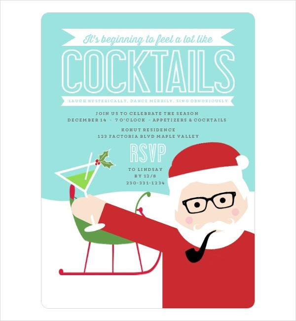 funny holiday party invitations