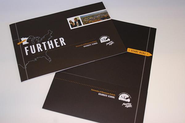 graduate brochure design