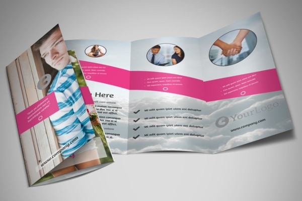 -Health Trifold Brochure