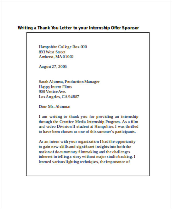 internship offer thank you letter2