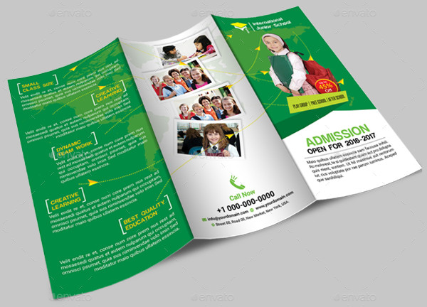 junior school brochure