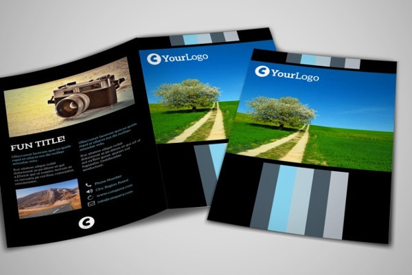 landscape photography brochure