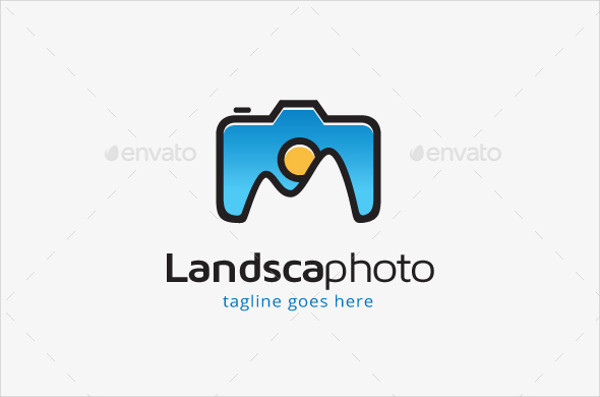 landscape photography logo