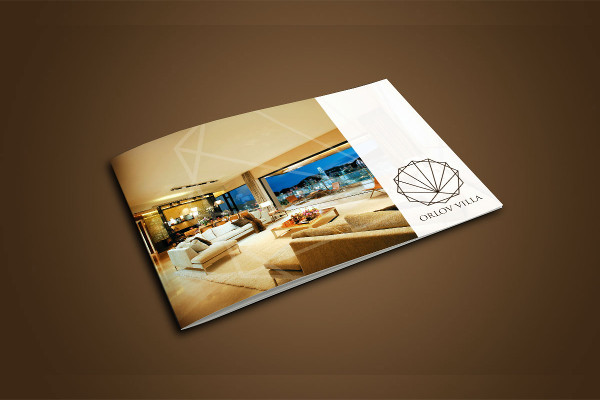 landscape real estate bi fold brochure