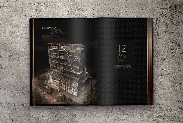 luxury free real estate brochure