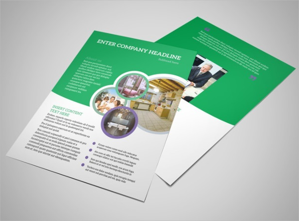 luxury real estate business flyer
