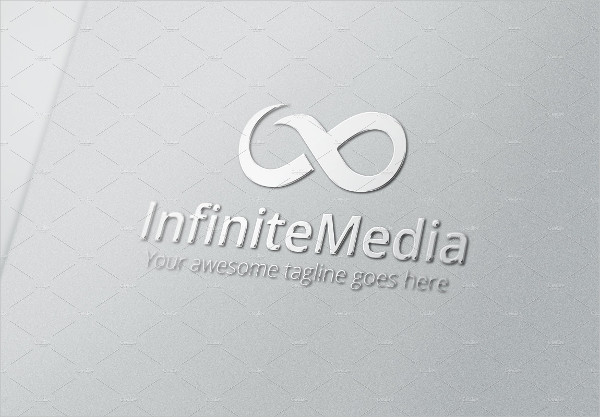 media company logo in psd
