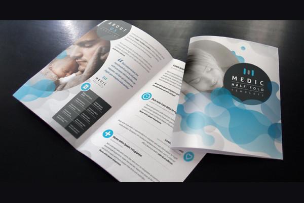 medical bi fold brochure