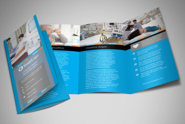 medical business brochure