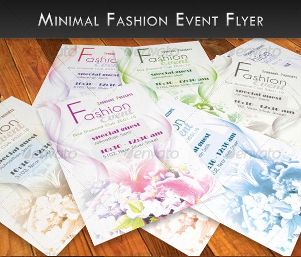 -Minimal Fashion Event Flyer