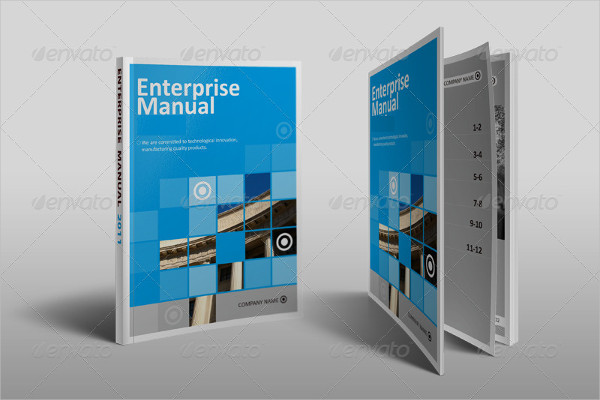 modern a5 business brochure