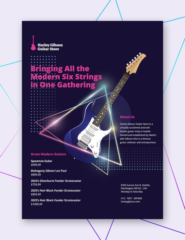 modern business flyer template1