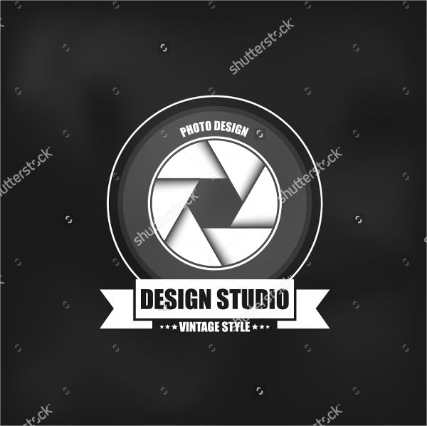Modern Business Photography Logo