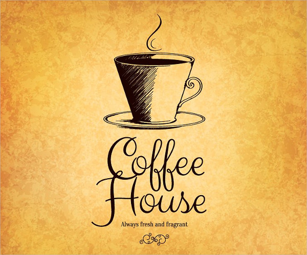 modern coffee restaurant logo